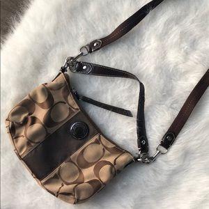 Coach large C side mini bag